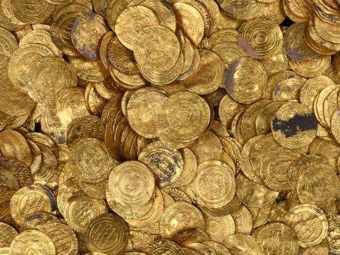 В Израиле нашли крупнейший клад золотых монет
