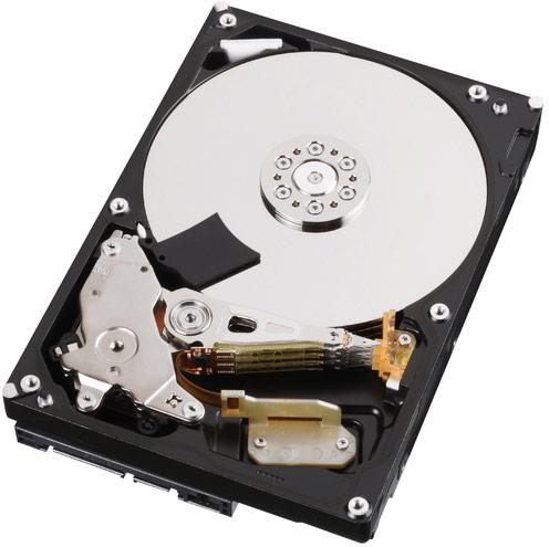 Накопители Toshiba MD типоразмера 3,5 дюйма характеризуются скоростью вращения шпинделя 7200 об/мин