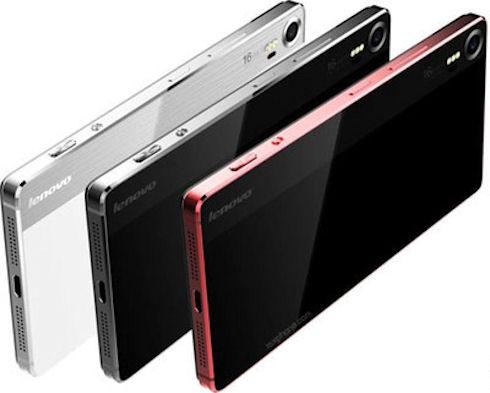 Lenovo разрабатывает металлический камерофон