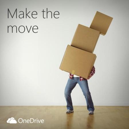 Microsoft дарит OneDrive на 100 ГБ пользователям Dropbox - 1