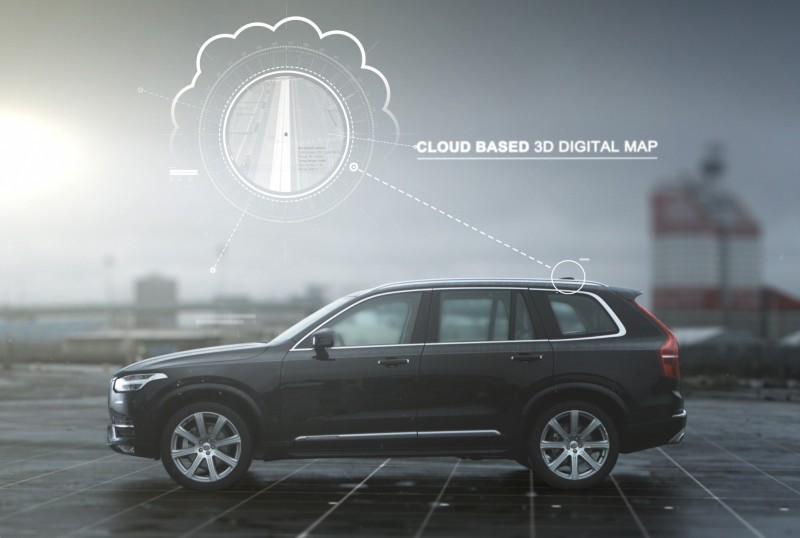 Volvo закончила проектирование беспилотного автомобиля - 13