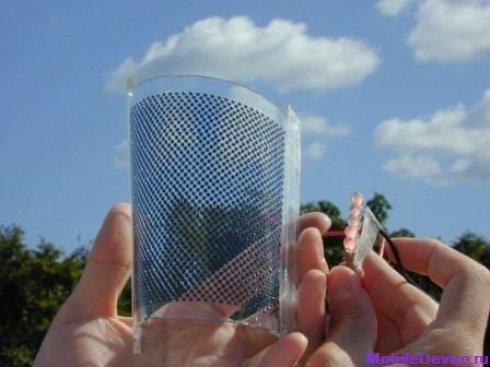 Американские ученые создали прозрачную солнечную батарею