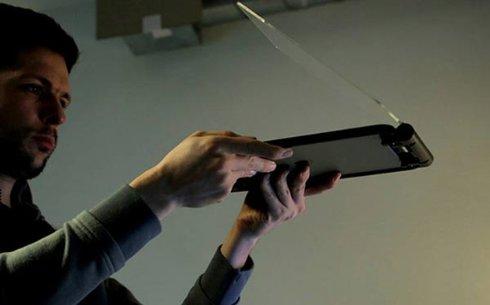 Для iPad создали «голографический» проектор (ВИДЕО)
