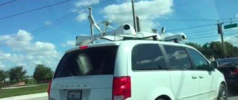 Опубликовано качественное видео «секретного» автомобиля Apple