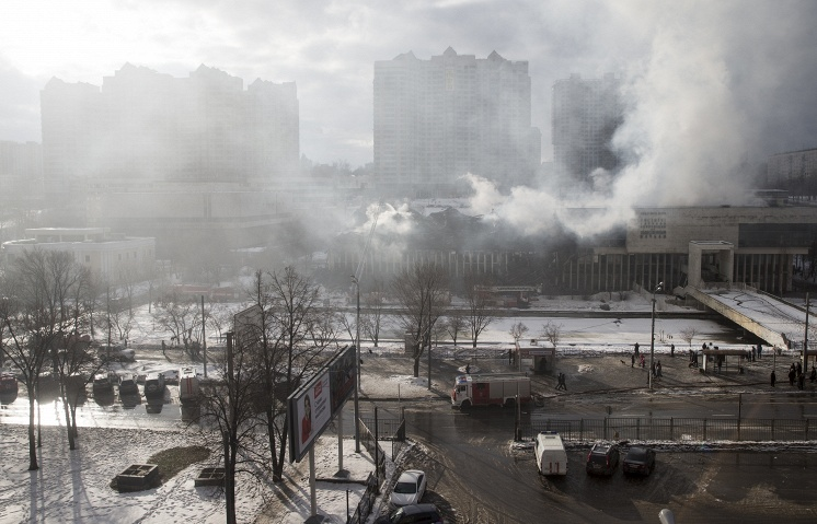 Поврежденные при пожаре книги ИНИОН будут восстанавливать сушкой в криокамерах - 1