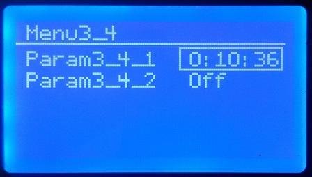 Реализация многоуровневого меню для Arduino с дисплеем - 7