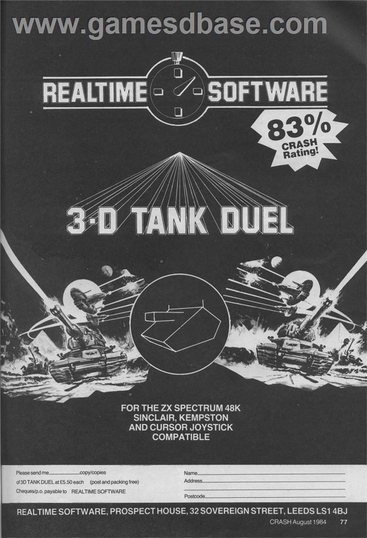 Танки на ZX Spectrum - 2
