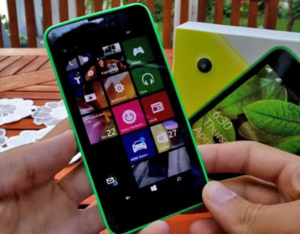 Microsoft удваивает объем ОЗУ смартфона Nokia Lumia 635