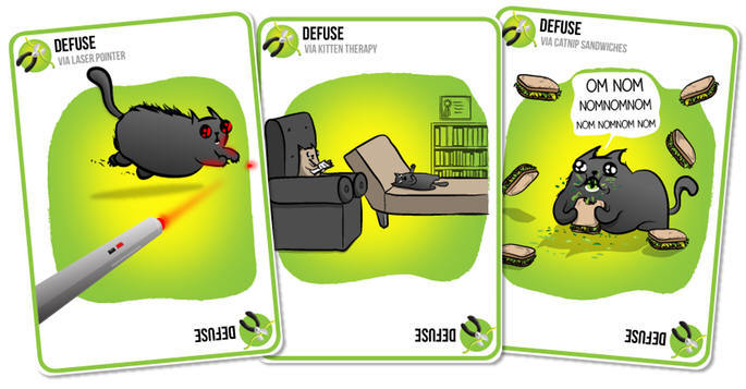 Карточная игра про взрывающихся котят поставила рекорд сборов кикстартера - 3