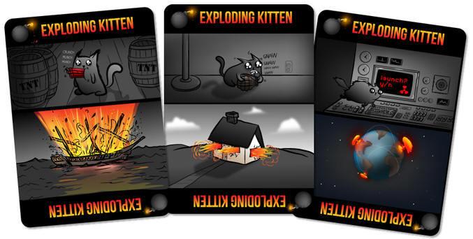 Карточная игра про взрывающихся котят поставила рекорд сборов кикстартера - 1