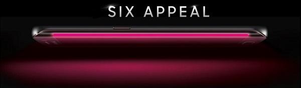 Смартфон Samsung Galaxy S6 Edge показан на официальном фото оператора T-Mobile - 1