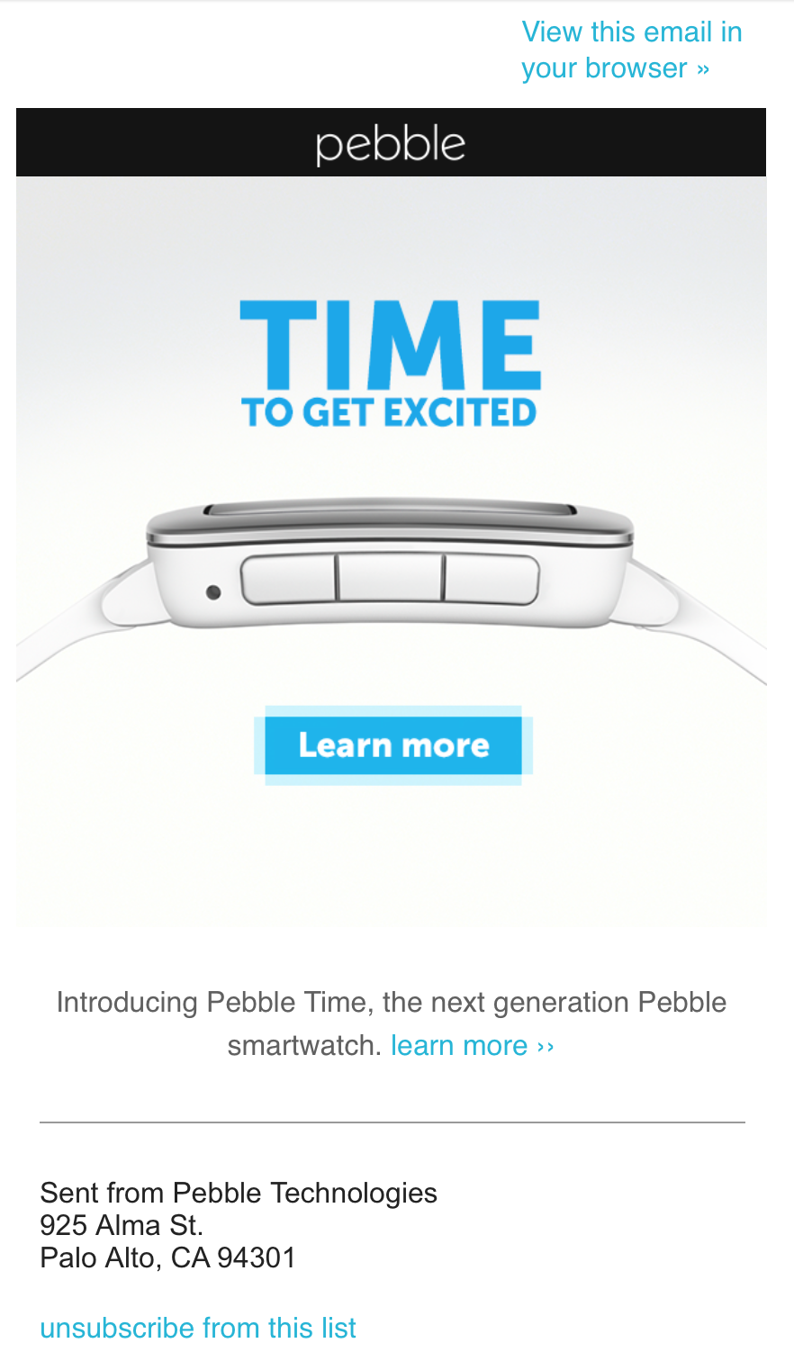 pebble-email