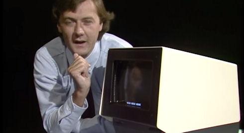 Какими были сенсорные экраны в 1982 году (ВИДЕО)