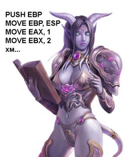 Пишем бота для MMORPG с ассемблером и дренейками. Часть 1 - 1