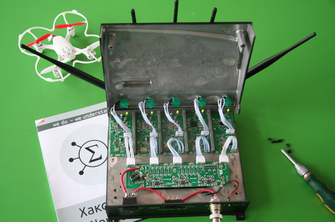Jammer: глушим GSM, 3G, 4G, WiMAX, Yota - 1