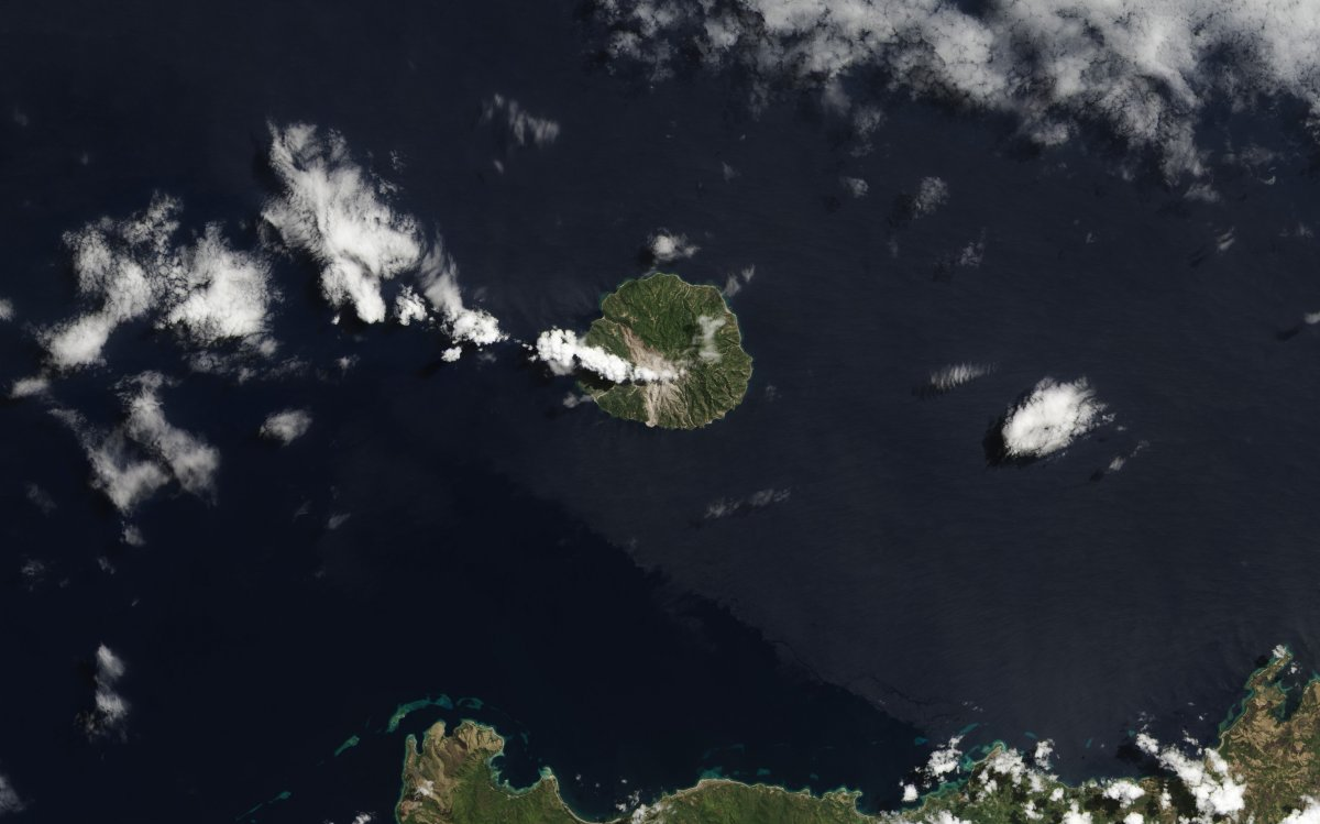 Рекурсивная фотография от NASA: остров в озере на острове в озере на острове - 3