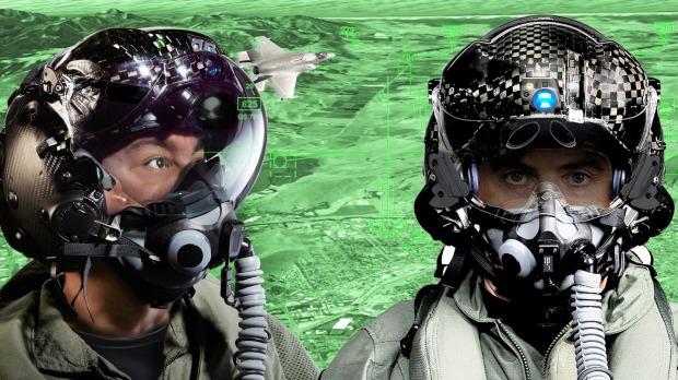 Шлем истребителя F-35 стоит $600 000 - 1