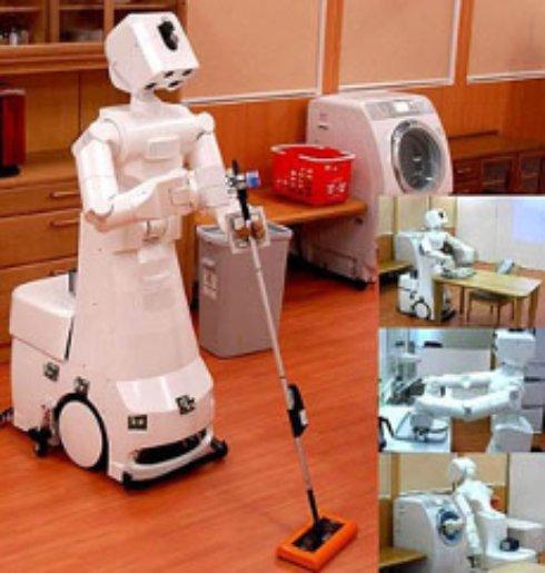 Белорусский школьник создал робота уборщика