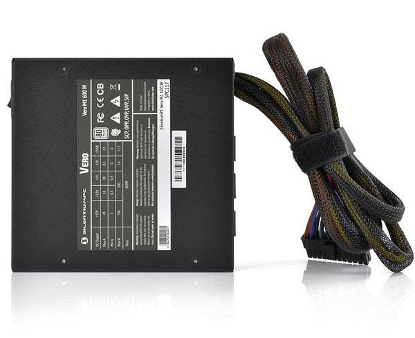 В блоке питания SilentiumPC Vero M1 используется схема активной коррекции коэффициента мощности