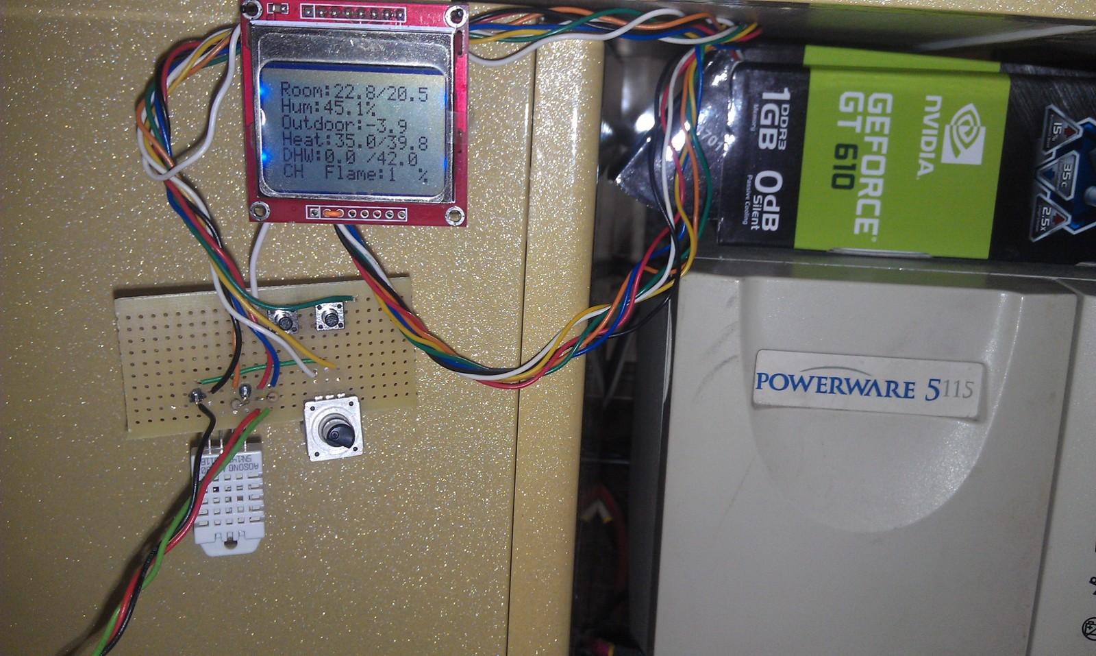 Еще один термостат на Arduino, но с OpenTherm - 17