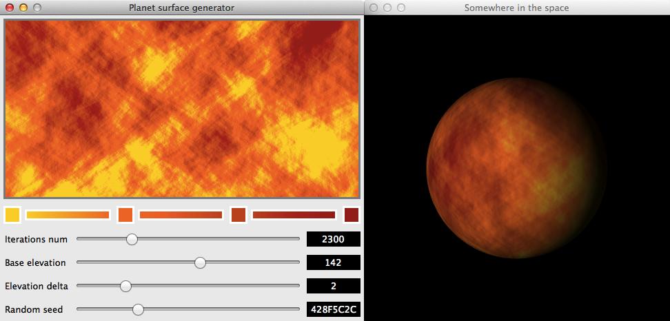 Генерация текстур планет как в игре Star Control 2 - 1