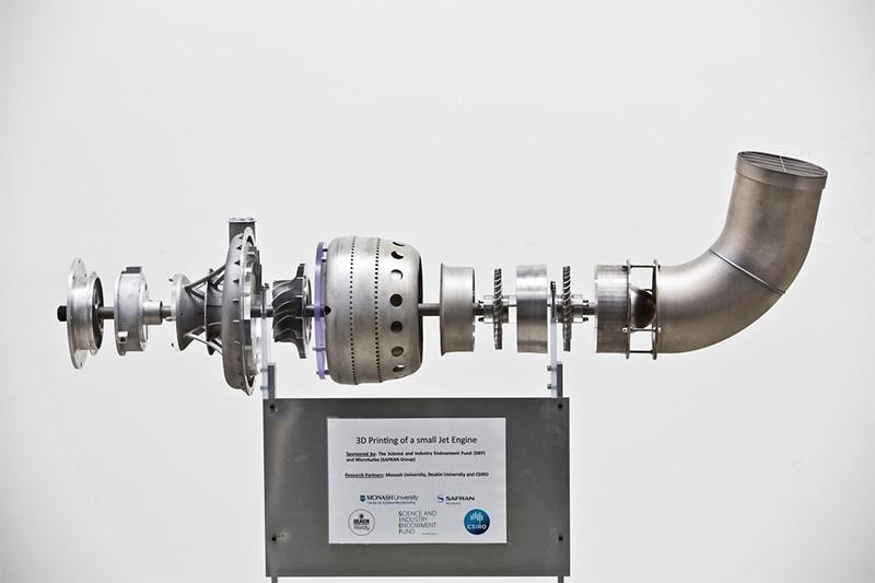 Первый реактивный двигатель, напечатанный на 3D-принтере - 3