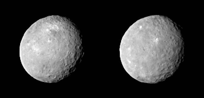 Зонд Dawn прислал детальный снимок Цереры с «белым пятном» - 1