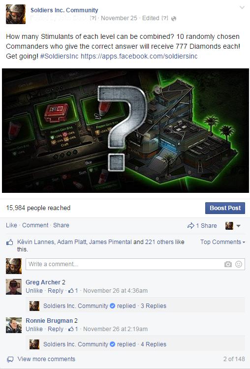 23 (и даже больше) полезных совета для админа игрового сообщества в Facebook - 6