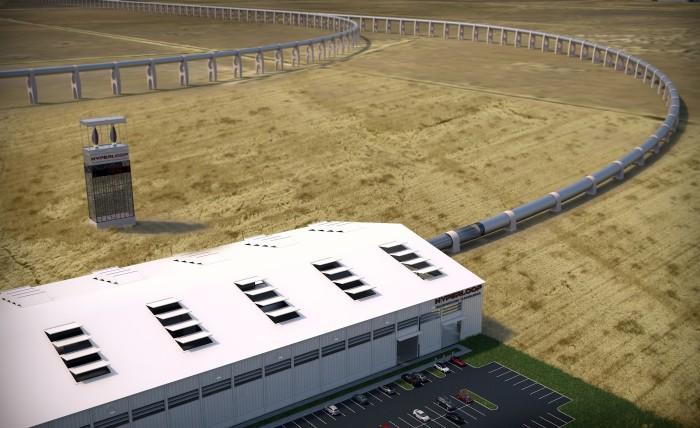 Hyperloop получил первый контракт - 2