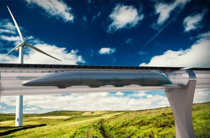 Hyperloop получил первый контракт - 1
