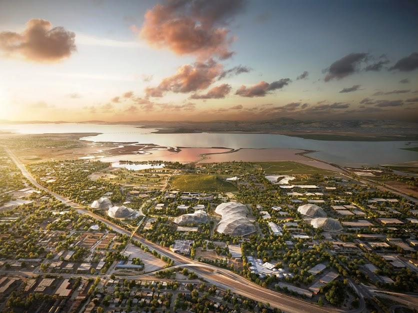 Google собирается построить «стеклянную утопию» в Маунтин-Вью - 7