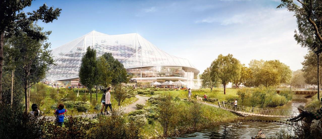 Google собирается построить «стеклянную утопию» в Маунтин-Вью - 8