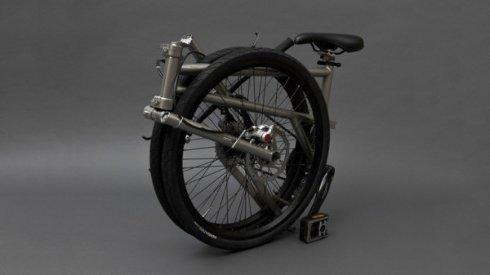 Представлен самый компактный велосипед в мире