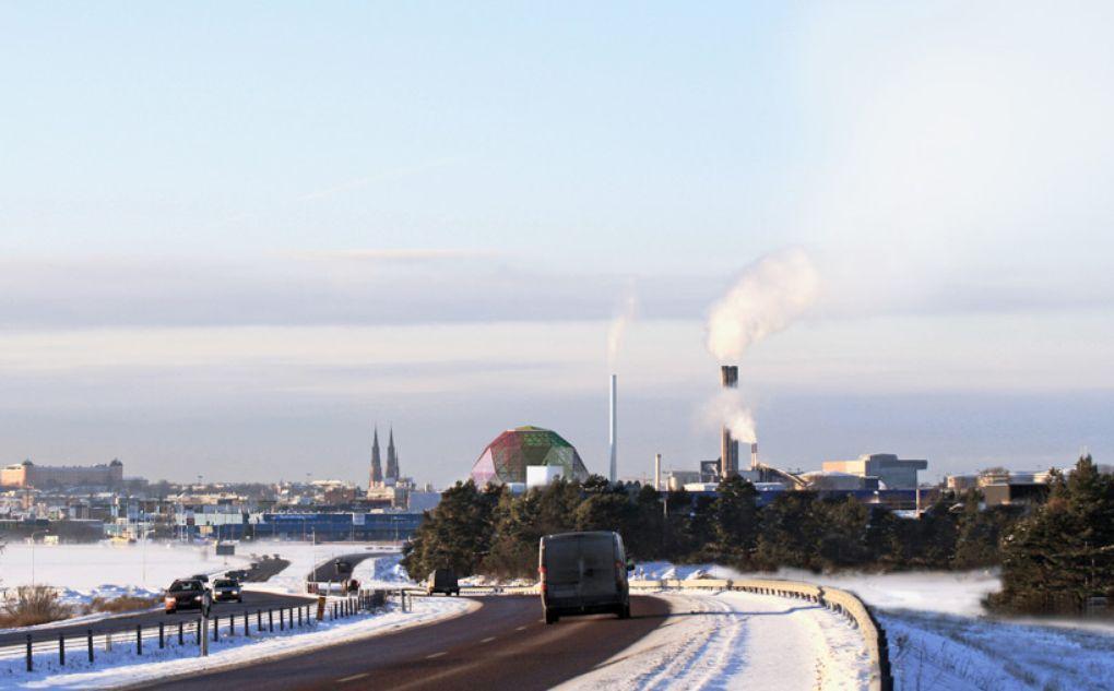 Проект футуристической энергостанции в Швеции - 3