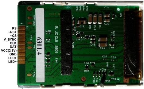 Разбираемся с LCD экраном LPH9157-2 от Siemens C75-ME75 - 2