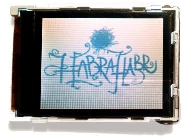Разбираемся с LCD экраном LPH9157-2 от Siemens C75-ME75 - 1