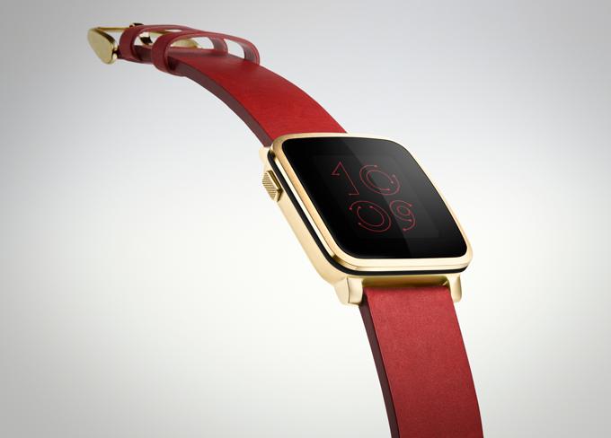 Pebble анонсировала Pebble Time Steel — металлическую версию новых часов - 1