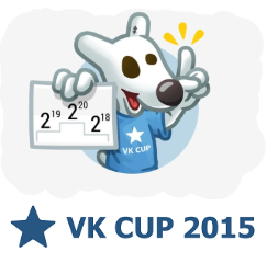 VK Cup 2015 - 1