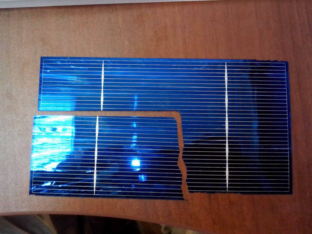 Солнечная на светодиодах батарея