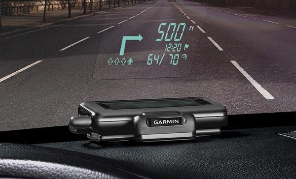 Garmin HUD: навигатор с проектором для лобового стекла автомобиля - 1