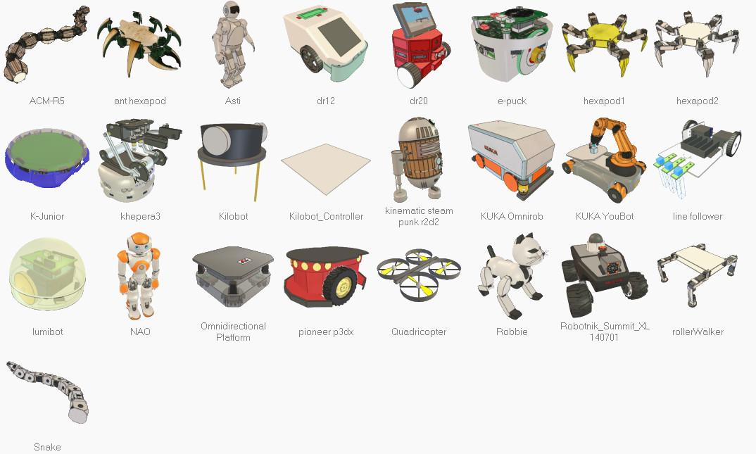 Программируем роботов — бесплатный робосимулятор V-REP. Первые шаги - 10