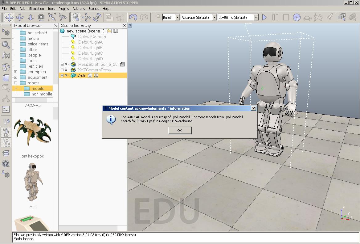 Программируем роботов — бесплатный робосимулятор V-REP. Первые шаги - 6
