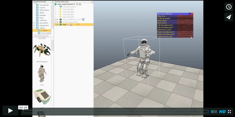 Программируем роботов — бесплатный робосимулятор V-REP. Первые шаги - 7