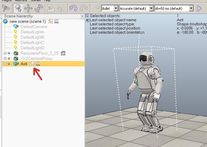 Программируем роботов — бесплатный робосимулятор V-REP. Первые шаги - 9