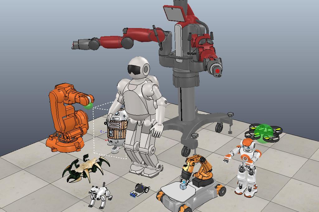 Программируем роботов — бесплатный робосимулятор V-REP. Первые шаги - 1