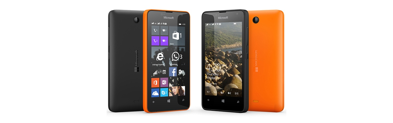 Microsoft анонсирует самую доступную Lumia - 1