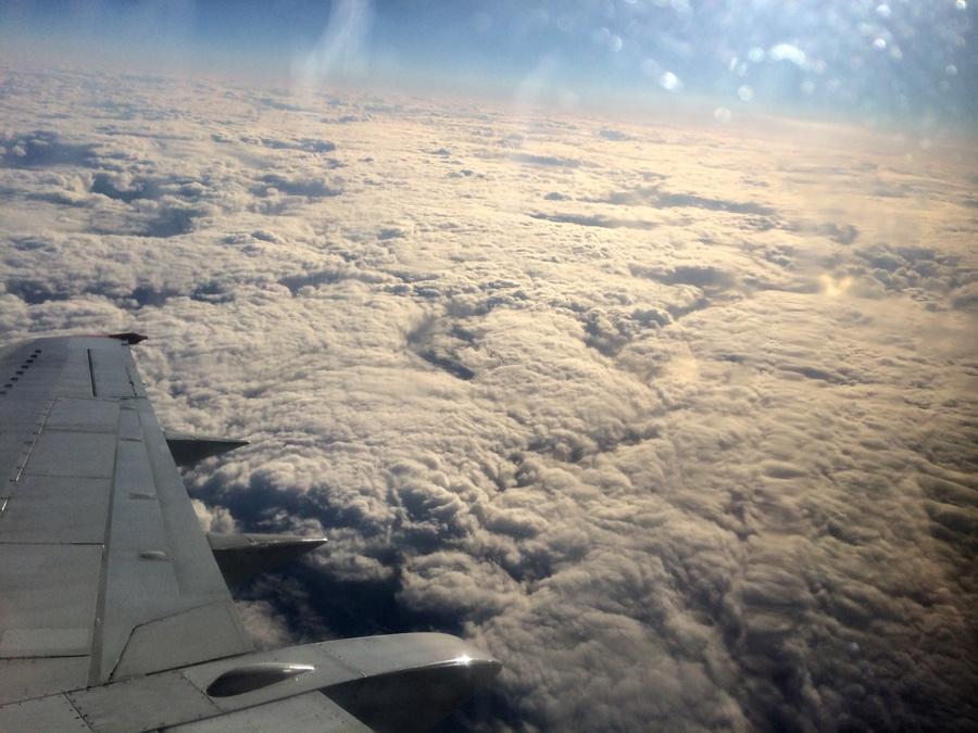 Солнечное затмение с воздуха и из космоса - 13