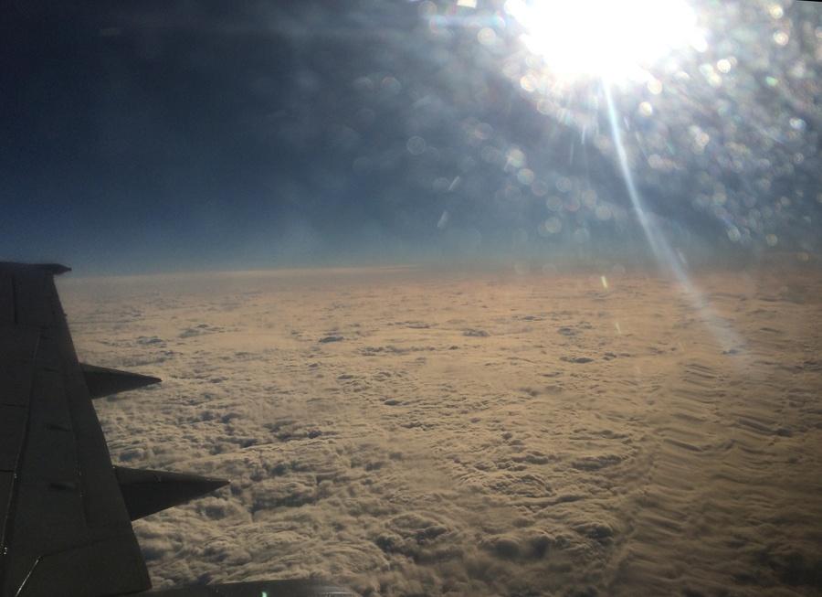 Солнечное затмение с воздуха и из космоса - 17