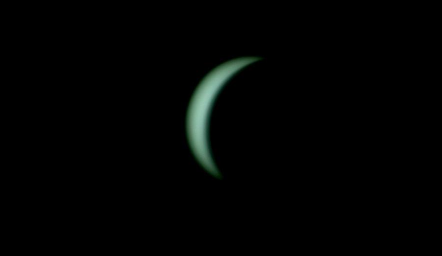 Солнечное затмение с воздуха и из космоса - 20