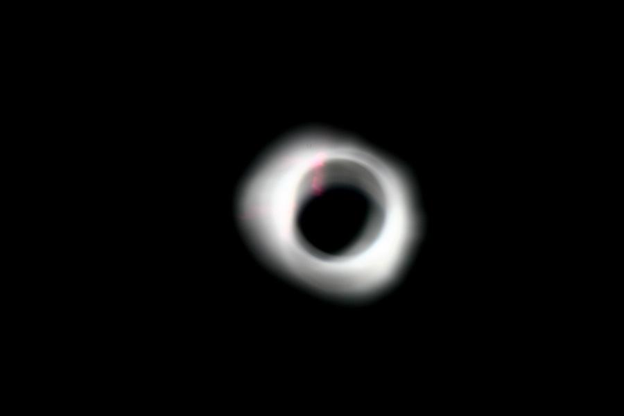 Солнечное затмение с воздуха и из космоса - 24